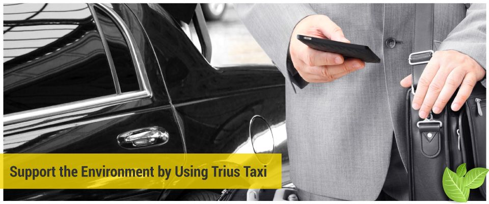 Support the Environment by Using Trius Taxi